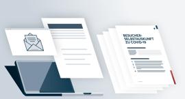 COVID-19-Besucherformular für Ihr Unternehmen