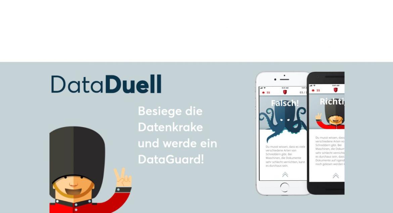 Die App DataDuell macht Datenschutz spielerisch interessant