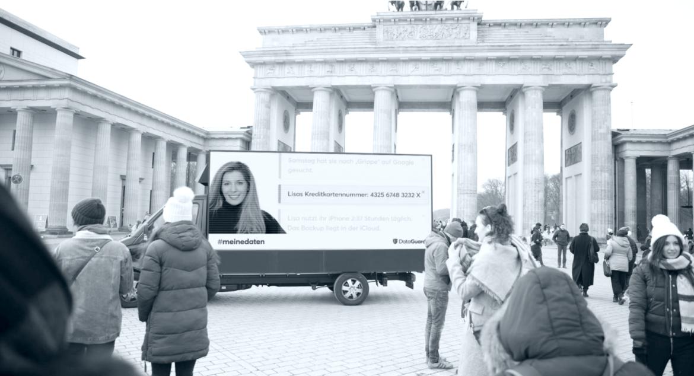 Live Performance zum kommenden Europäischen Datenschutztag am 28.01.2019 in Berlin