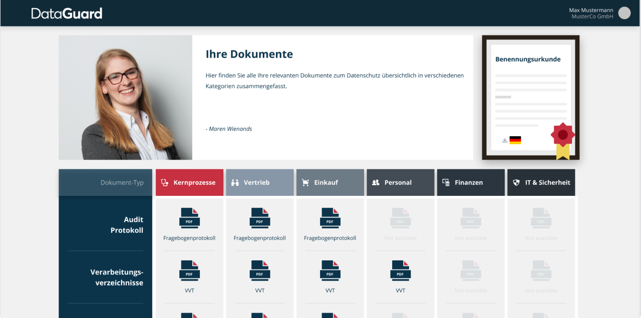 de document dashboard-1